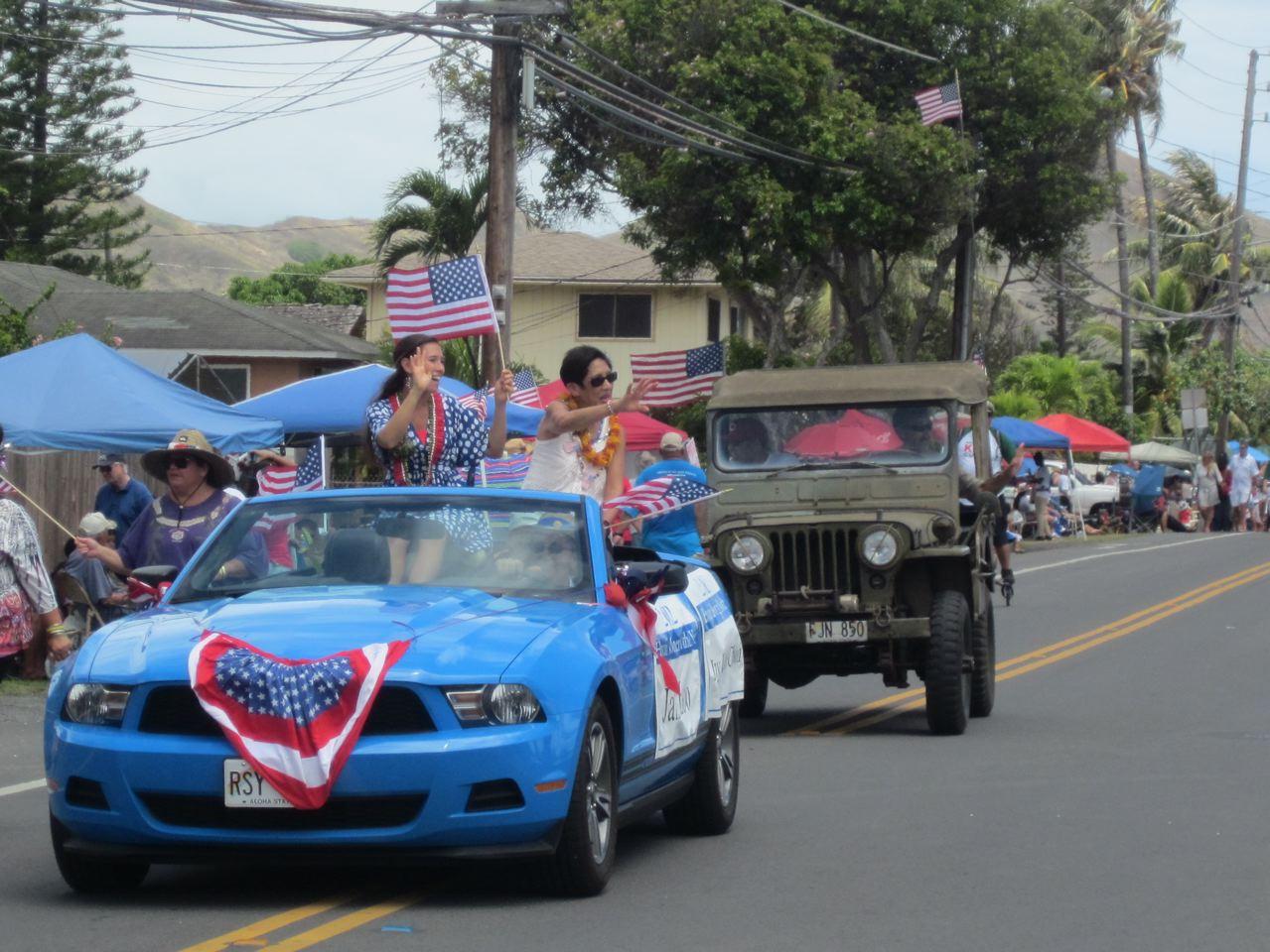 Photo of the Kailua July 4th Parade